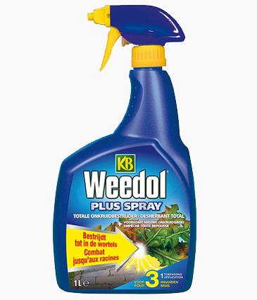 Kb Weedol Plus spray: 3 maanden onkruidvrij