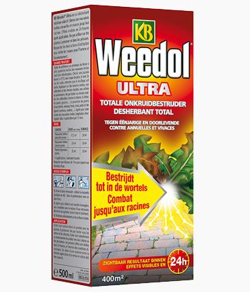 Kb Weedol Ultra: Onkruid bebstrijden