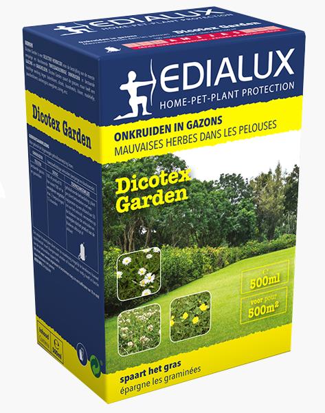 Dicotex Garden voor het bestrijden van onkruid in gras