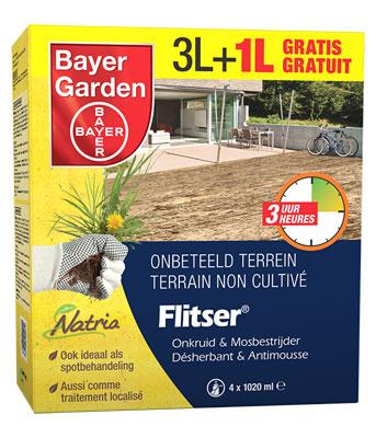 Bayer Solabiol Flitser voor de bestrijding van onkruid