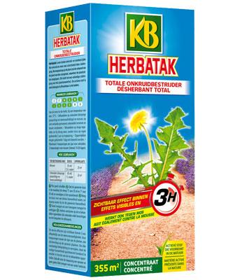 Onkruidbestrijder voor moestuin -KB Herbatak