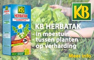 KB Kerbatak - Onkruidbestrijder tussen planten