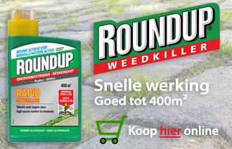 Roundup kopen - Beste onkruidbestrijder Belgie en Nederland