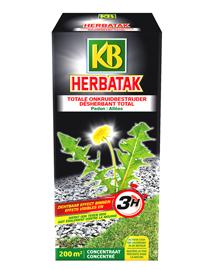 KB Herbatak voor bestrijding van hardnekkig onkruid